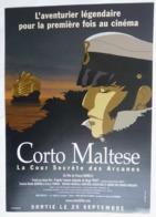 FLYERS PUBLICITAIRE SORTIE DU FILM CORTO MALTESE 2002 - Oggetti Pubblicitari