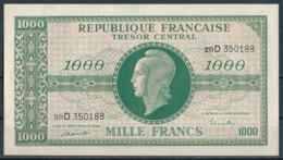 °°° FRANCE - 1000 FRANCS TRESOR MARIANNE °°° - 1943-1945 Marianne