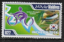 MALDIVES  N°  ( 2014 )     * *  Cyclisme - Cycling