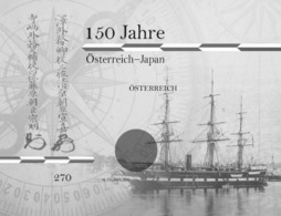Austria 2019 - 150 Years Of Austria - Japan Black Proof Mnh - 1945-.... 2ª República