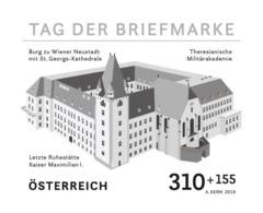 Austria 2019 - Day Of The Stamp 2019 Black Proof Mnh - 1945-.... 2ª República
