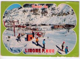 Saluti Da Limone Piemonte.(Cn). VG. - Cuneo