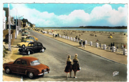 Le Crotoy / La Promenade / Renault Dauphine & Citroën Traction / Ed. CAP - Voitures De Tourisme
