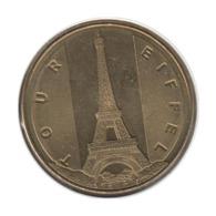 75048 - MEDAILLE TOURISTIQUE MONNAIE DE PARIS 75007 - Tour Eiffel - 2013 - Monnaie De Paris