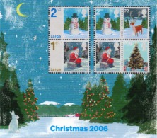 GREAT BRITAIN 2006 Christmas M/S - Blocchi & Foglietti