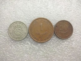Portugese Angola 20 Centavos, 1 And 2,5 Escudos - Angola