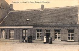 Oostmalle - Huis Ed. Meeus-Bogaerts, Handelaar (animatie, Desaix, Zeldzaam) - Malle