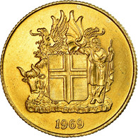 Monnaie, Iceland, Krona, 1969, SUP, Nickel-brass, KM:12a - Iceland
