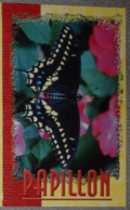 Petit Calendrier De Poche   2002 Papillon Pharmacie Rohan Morbihan - Calendars