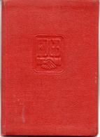 """(Kart-ZD) DDR MITGLIEDSBUCH """"FDGB - Freier Deutscher Gewerkschaftsbund"""" Ausgest. Görlitz 20.1.1955 Bis 1960 - Historische Dokumente"""