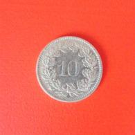 10 Rappen Münze Aus Der Schweiz Von 1974 (sehr Schön Bis Vorzüglich) - Schweiz