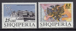 Albania MNH Michel Nr 2567/68 From 1995 / Catw 4.50 EUR - Albania