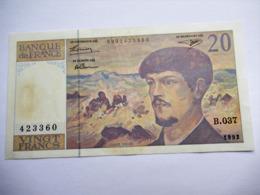 Frankrijk 20 Francs 1992 - 1962-1997 ''Francs''