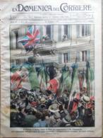 La Domenica Del Corriere 2 Giugno 1918 WW1 Principe Galles Resnati Ponte Legno - Guerra 1914-18