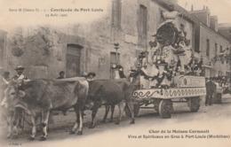 """56 PORT-LOUIS      Char De La Maison Cormault   Vins Et Spiritueux à Port Louis   SUPER PLAN 1909  RARE   """"Rosa"""" - Port Louis"""