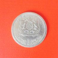 1 Dirham Münze Aus Marokko Von 1974 (schön) - Marokko