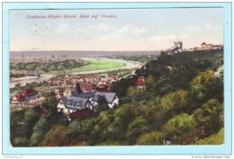 DEUTSCHES REICH Postkarte Postcard AK - Dresden Loschwitz - Pirna Nach Hermsdorf (Mittweida) (2 Scan)(70970) - Briefe U. Dokumente