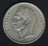 Venezuela, 2 Bolivares 1945, Silber - Venezuela
