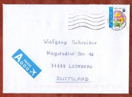 Brief, Blume, Bruxelles Nach Leonberg 2011 (81958) - Belgium