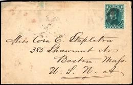 1878, Honduras, 18, Brief - Honduras