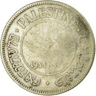 Monnaie, Palestine, 50 Mils, 1933, TTB, Argent, KM:6 - Israël