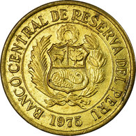 Monnaie, Pérou, Sol, 1975, Lima, TTB, Laiton, KM:248 - Peru