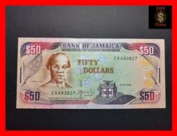JAMAICA 50 Dollars  15.1.2002  P. 79 C  UNC - Giamaica