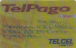 Venezuela, TELCEL-031, Servicios Telpalgo (3D), (Tridimensional), 2 Scans. - Venezuela
