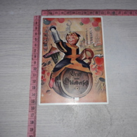 C-78183 GRUSS AUS OKTOBERFEST BAMBINO BOTTE BIRRA BIER ILLUSTRATA CARTOLINA CON MECCANISMO - Künstlerkarten