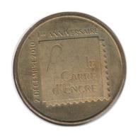 75057 - MEDAILLE TOURISTIQUE MONNAIE DE PARIS 75009 - Le Carré D'Encre - 2011 - Monnaie De Paris