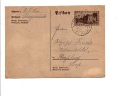SARRE ENTIER DE ERFWEILES 1954 - Lettres & Documents
