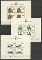 PORTUGAL - MNH - Europa-CEPT - Tranport - Horses - 1988 - Europa-CEPT