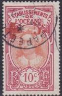 French Oceania, Scott #26, Used, Tahitian Girl, Issued 1913 - Oceania (1892-1958)