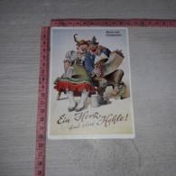 C-78193 GRUSS VOM OKTOBERFEST ILLUSTRATA BIRRA BIER HUMOR UMORISTICA - Künstlerkarten