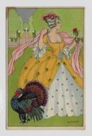 Art Nouveau  Mia Witt  Serie BKWI Nr 656 -  3 About 1920y. D126 - Künstlerkarten