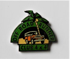 Pin's Rallye Off Road Runner  Club 4 X 4 - Pa/Ce - Pins