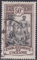 French Oceania, Scott #42, Used, Kanakas, Issued 1913 - Usados