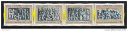 NEPAL 2005 Buddha Series, 4v Different Stamps, Yvert 790/93 ,YELLOW,  Colour Between Stamps, MNH, (**) - Nepal