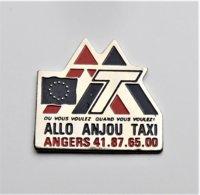 Pin's Allo Anjou Taxi  - Pa/Ce - Pins