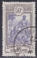 French Oceania, Scott #44, Used, Kanakas, Issued 1913 - Oceania (1892-1958)