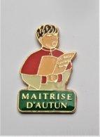 Pin's Chorale Maitrise D'Autun - Pa/Ce - Ciudades