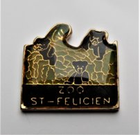 Pin's Zoo Saint Félicien Ours - ANIMAUX  - Pa/Ce - Dieren
