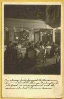 Paquebot SS WASHINGTON Rare Carte Animée Dîner à Bord - Passagiersschepen