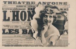 I164 - THÉATRE ANTOINE - 1ere Page Journal - Théâtre