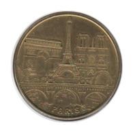 75068 - MEDAILLE TOURISTIQUE MONNAIE DE PARIS 75015 - Paris 3 Monuments - 2014 - Monnaie De Paris