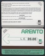 EGYPT 5 - ARENTO LE 20.00 Verso Sans Ligne En Bas 1987 Egypte MINT URMET Neuve (BG1216 - Aegypten