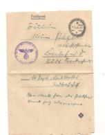 1943 PRISONNIERS DE GUERRE FRANCFORT - Marcophilie (Lettres)