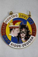 Karnevalsorden Faschingsorden Rosenmontag Kidde-Deugra Helau 2001, Wie Neu, Rare - Carnaval