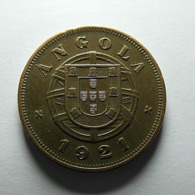 Portuguese Angola 5 Centavos 1921 - Portugal