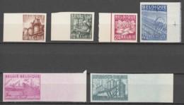 Belgie     .      OBP    .   767/772     Ongetand     .    (*)     . Geen  Gom  .   /   .  Pas De Gomme - Unused Stamps